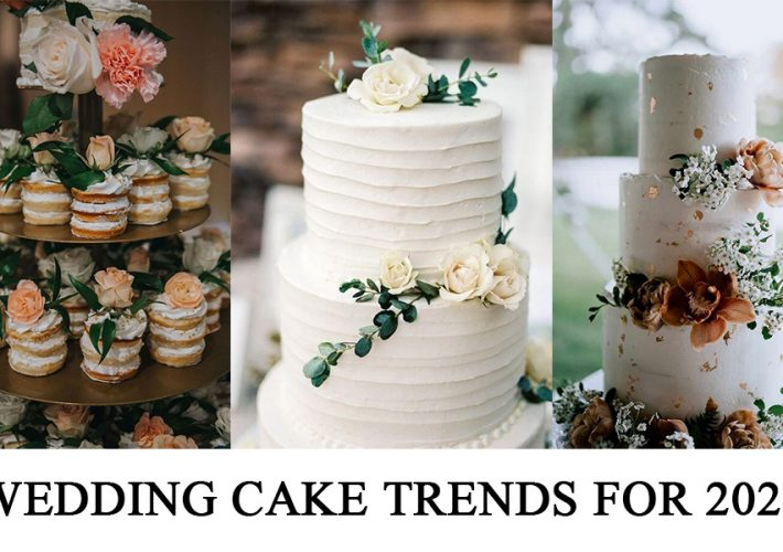 trending wedding cakes for 2021